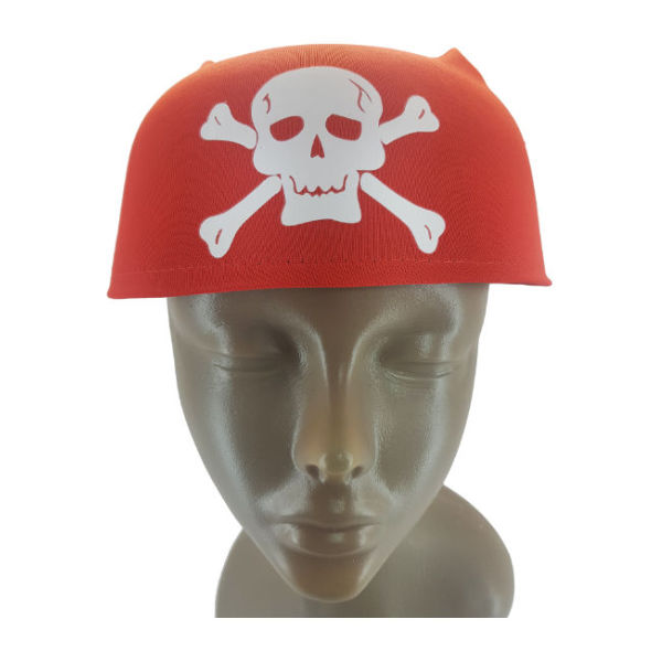 Red Pirate creew hat 1