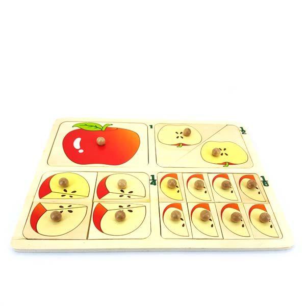 Apple Pieces puzzle easy grip