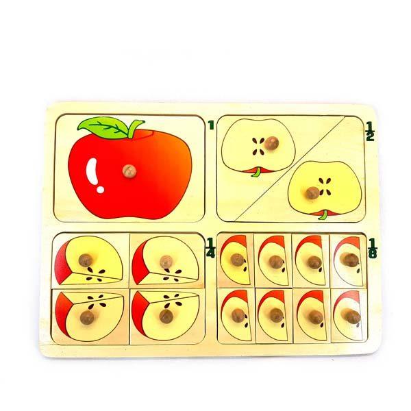 Apple pieces puzzle