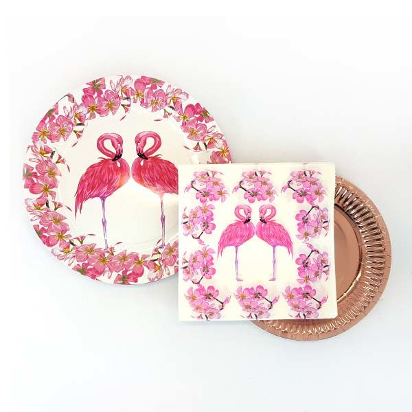 Flamingo pairs party