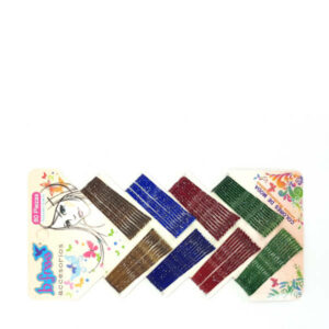 80-piece Multi-colour hair pins