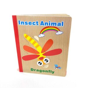 Insect animal book puzzle