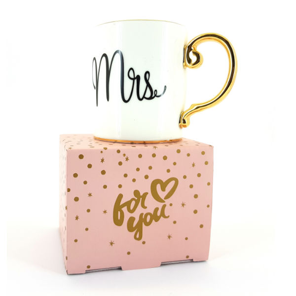 Mrs cup with box