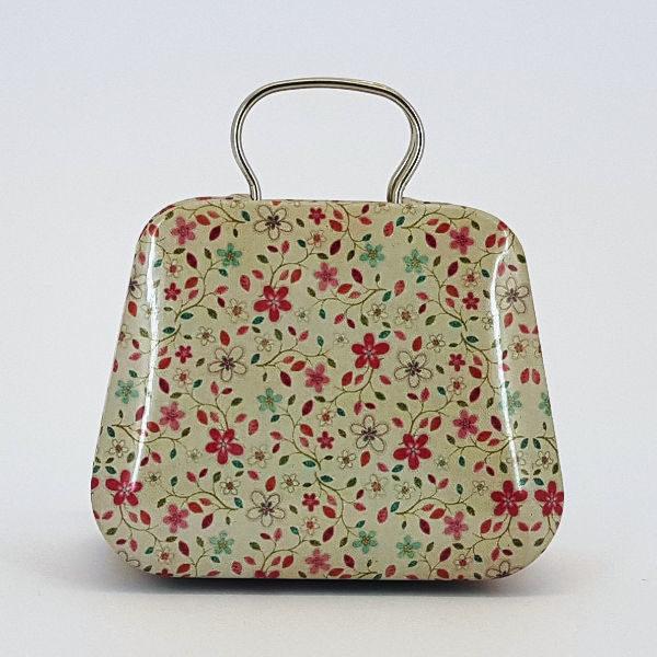 Small Handbag Suitcase Tin