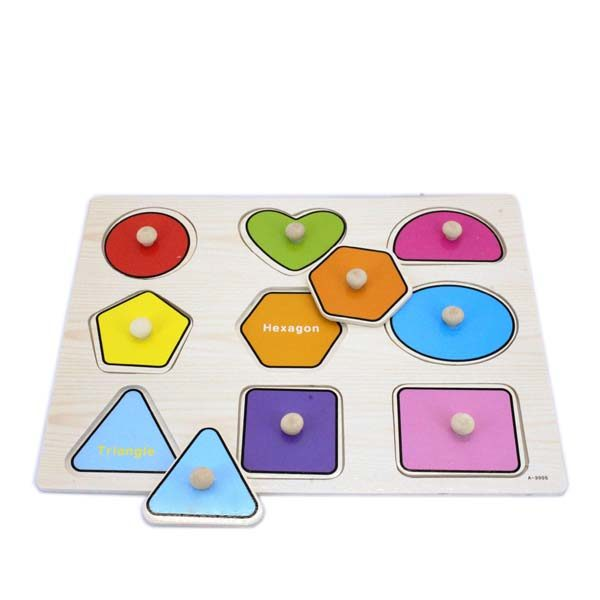 Shapes puzzle easy grip