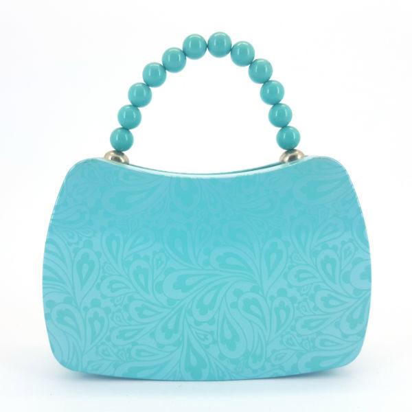 Tin & Bead handbag blue