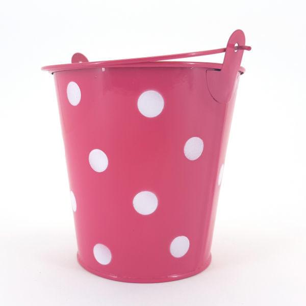 Tin Bucket Cherice &Polka Dots
