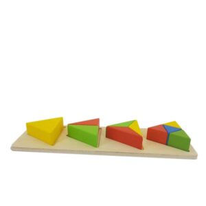 Triangle 3D puzzle