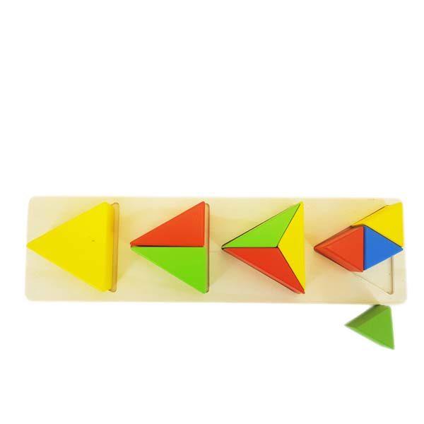 Triangle piece puzzle