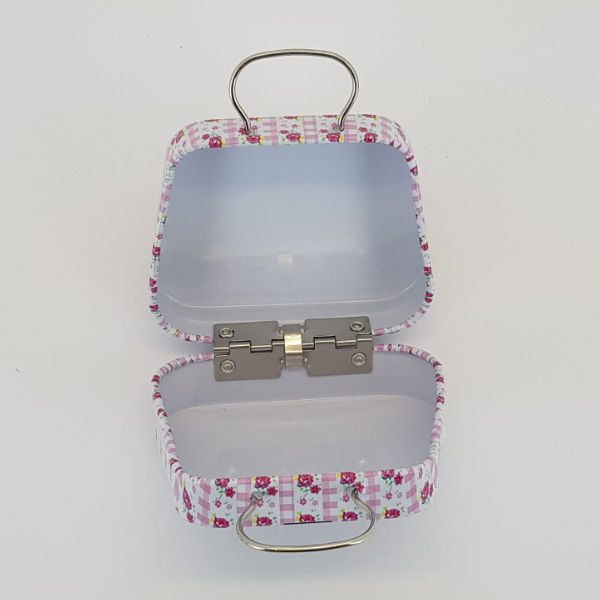 Mini Handbag Suitcase Tin