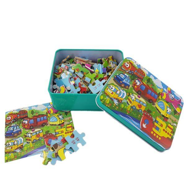 80 piece vehicle puzzle