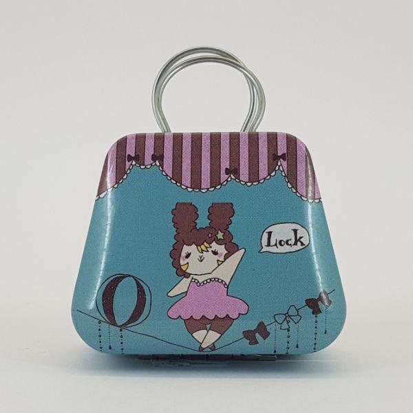 mini handbag Trapeze circus design
