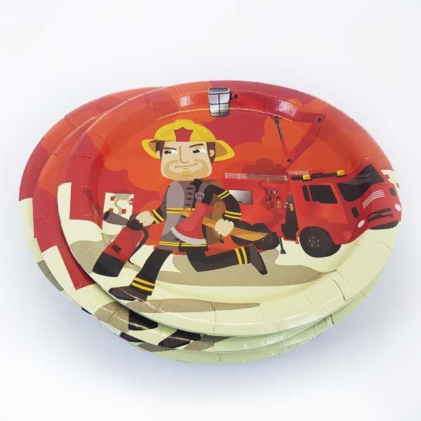 Fireman plates