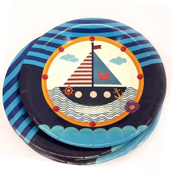 Nautical side plates
