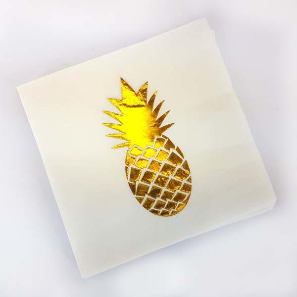 Pineapple serviette