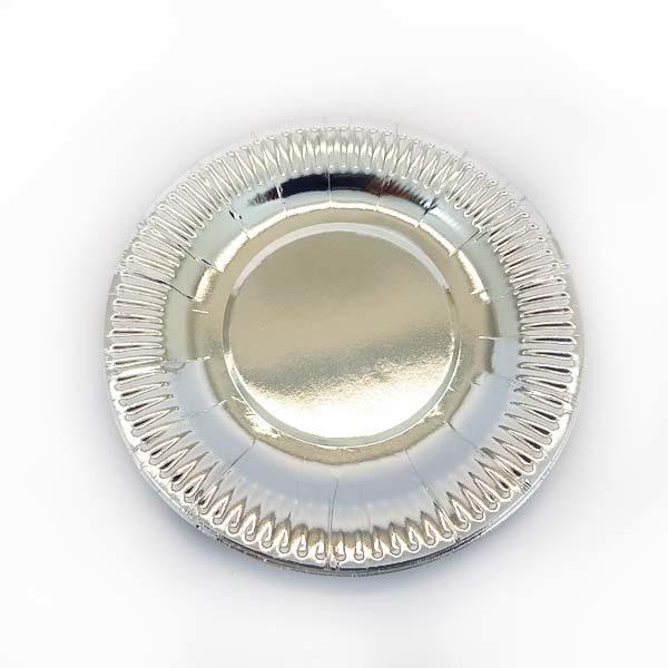 Silver side plate