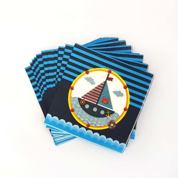 nautical serviettes