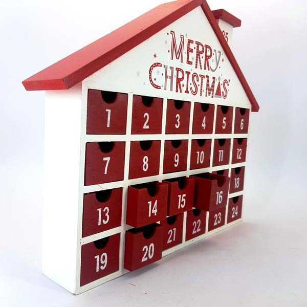 Calender House Red