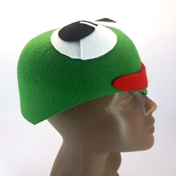Frog Hat side view