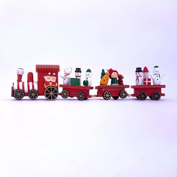 Medium White & Red Train