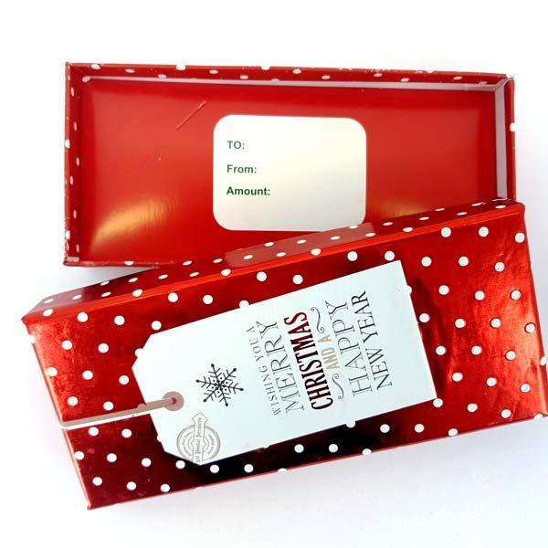 Polkadot gift box