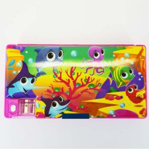 Sea Animal Stationery Case with Sharpener