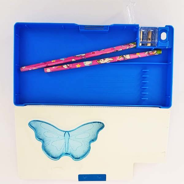 Unicorn Blue Stationery Case