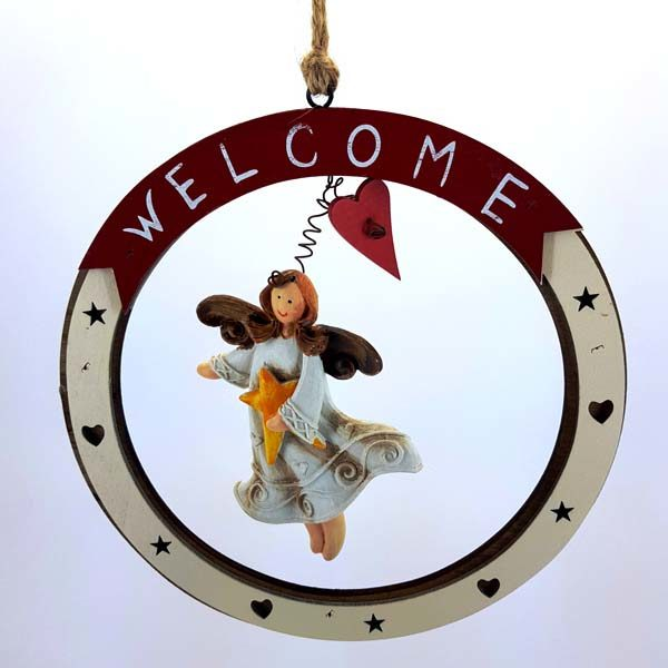 Welcome Sign Ornament