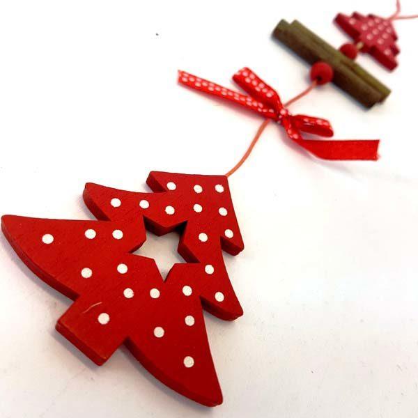 Red Xmas Tree Ornament