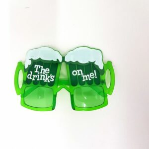 Drinks on me glasses